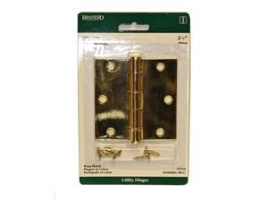 """Brainerd Brass Plated 3-1/2"""" Sq Door Hinge 31558 Brainerd 31558 022788315589"""