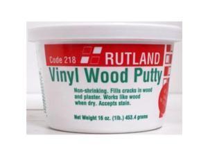 Rutland 16Oz Vinyl Wood Putty New U.S.A. Rutland Fireplace Accessories 218