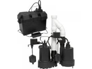 12V SUMP PUMP KIT W/BAT BACKUP DECKO PRODUCTS Sump Pumps 92941 725113929412