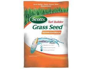 SEED GRASS BERMUDA 5LB BG SCOTTS COMPANY Grass Seed 18353 Orange 032247183536