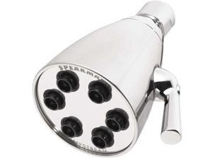 Showerhead, Fixed, 1/2 In, 2.5 GPM