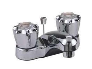 LAV FAUCET NON-MET CHROME 2HDL TOOLBASIX Topmost Faucets PF4201RC 045734635111