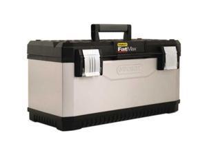 "Metal Plastic Tool Box 23"" Stanley Jobsite Tool Boxes 023180R 076174956160"