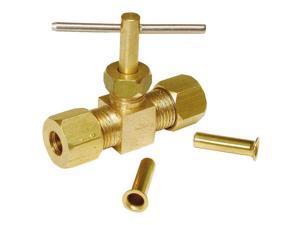 Dial Manufacturing Strait Needle Valve 1732-8006