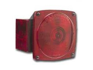 Peterson Mfg. Red Stop & Tail Light With License Illuminator  V440L
