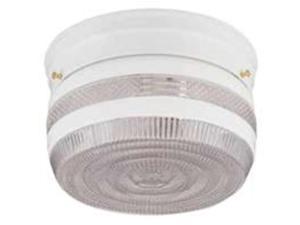 Fix Ceil 2Lmp Med 60W Clr Flsh BOSTON HARBOR Ceiling Fixtures F14WH02-8002CL3L