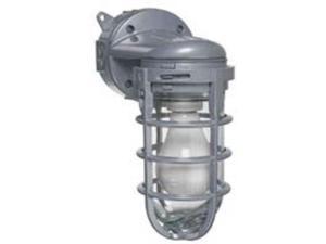 Lt Mt Wall Incan 120Vac 150W THOMAS & BETTS/CARLON Utility MCL150W Gray Aluminum