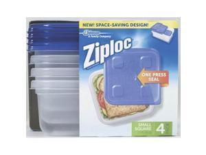 24 Oz Ziploc Square Container SC Johnson Food Containers 10878 025700709350