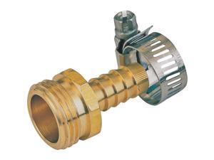 "1/2"" Male Brass Hose End Repair Mintcraft Hose Repair and Parts GB934M3L"