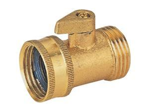 Brass Garden Hose Shut Off Mintcraft Hose Repair and Parts GB9111A3L
