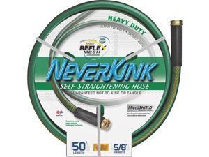Neverkink Ultra Flexible 50' Heavy Duty Garden Hose w/Solid Brass Fittings