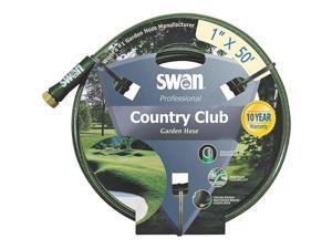 "Country Club Heavy Duty Garden Hose, 1"" ID, 50' L, PVC Colorite Garden Hose PVC"