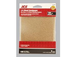 Sandpaper 1/4S 100G Med ACE Paint Sundries 1010446 082901013426