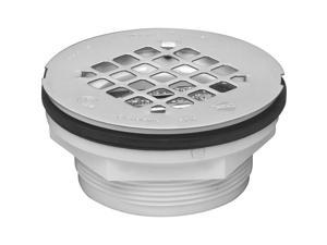 PVC Plast Shower Drain OATEY Tub and Shower Drains and Parts 42099 038753420998