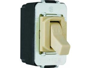 SWTCH TOGG 15A 1P SCR IVY Gam-Pak 3-Way Switches ACD1I Ivory 785007310115