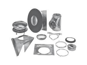 Selkirk Stove Wall Kit 8 1734-0043