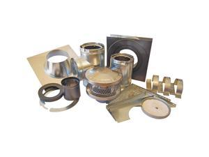 "3-Wall Chimney Installation Kit, 6"" AMERICAN METAL Chimney Pipe Accessories"
