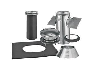 Selkirk 208621 8-Inch Pitched Ceiling Chimney Support Kit