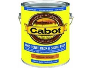 Pacific Redwood Deck And Siding Stain, 1 Gallon CABOT Stain 01-19205