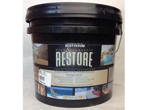 2.5 Gallon Restore Deck and Concrete Paint, Tint Base Rustoleum 49300