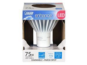 75W Equivalent Par30 High Cri Enhance Led Light, Soft White Feit Electric
