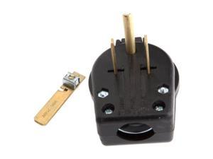 Nema 6-30 6-50 Male Electrical Plug, Pin-Type Forney Outlet Adapters 57602