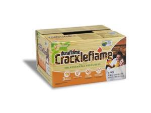 6-Pack Crackleflame Firelogs, 4-Pound Duraflame Matches and Lighters 4637