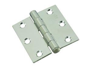 """V514 2-1/2"""" Door Hinge In Stainless Steel National Door Hinges N276-972"""