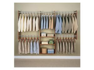 4-To-8-Foot Deluxe Tower, Cherry Easy Track Storage RB1460-C 018098314602