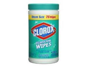 Disinfecting Wipes Fresh 75Ct CLOROX COMPANY Wipes 01656 044600016566