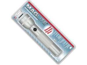 Maglite White Star 2-Cell D  Silver Flashlight White Star 2-Cell D Flashlight