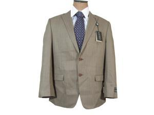 Ralph Lauren Men's Light Brown Herringbone Silk Wool Sport Coat Jacket