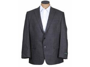 Ralph Lauren Men's Gray Black Check Wool Sport Coat Jacket