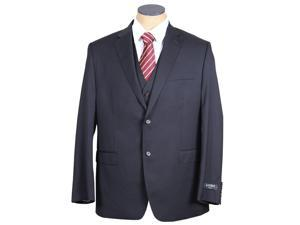 Ralph Lauren Men's Solid Navy Blue Slim Fit Wool Suit