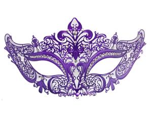 LASER CUT METAL MASK - Masquerade - VENETIAN COSTUME