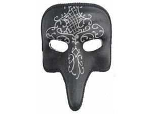 SHORT NOSE MASK - Venetian Costume - MASQUERADE SPARKLE