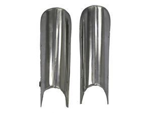 "18"" Gothic Knight Steel Greaves - Leg Armor - Renaissance Costume"