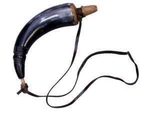 Functional Gun Powder Horn: Genuine Replica Powderhorn
