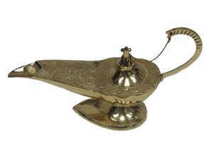 "12"" Genie Lamp - Ornate Aladdin Lamps - Incense Burner"