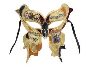 FANCY BUTTERFLY MASK - Painted Party Masks - MARDI GRAS