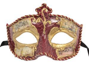 VENETIAN MASK - Painted Ball Masks - MASQUERADE COSTUME