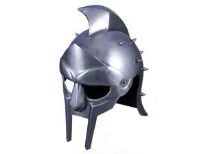 Greek Gladiator Maximus Helmet - Spiked Spartan Helm