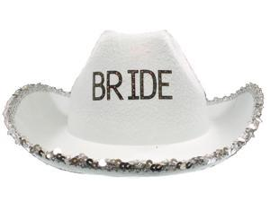 Bridal Light up Cowboy Hat - Bachelorette Party Accessory
