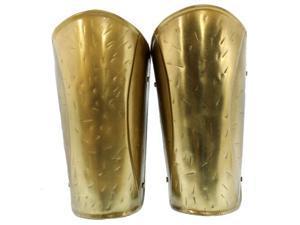 Medieval Spartan Arm Guard - Brass Armor - Roman Costume