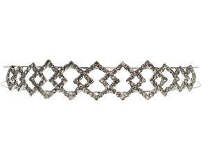 Crystal Rhinestone Wedding Tiara Headband - Bridal Accessory