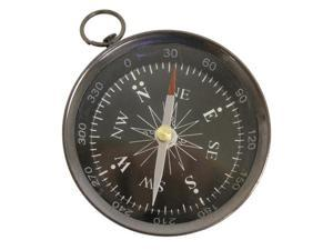 "3"" Black Face Antique Finish Compass: Hiking and Camping"