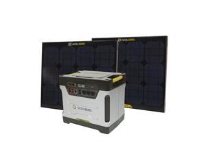 Goal Zero Yeti Solar Generator Kit 1250 Watt Power USB AC Backup Silent Panel