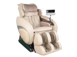 Osaki OS4000 Executive Zero Gravity Massage Chair Cream Beige Recliner Deluxe