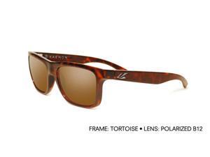 Kaenon Men's Clarke Sunglasses 028-02-B12 Tortoise Brown Polarized W/Case