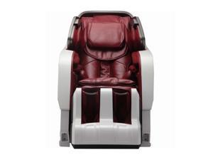 Infinity Iyashi White Berry Red Zero-Gravity Massage Chair Infinite